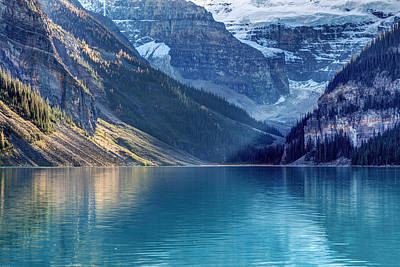 Photograph - Lake Louise Sunlight by Pierre Leclerc Photography