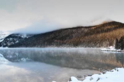 Photograph - Lake Louise Sunrise Morning by Andrea Hazel Ihlefeld