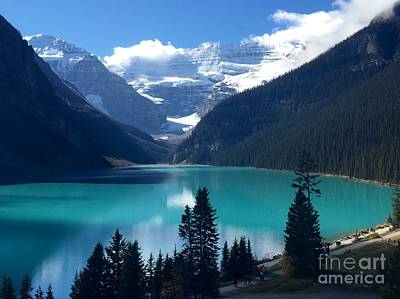 Photograph - Lake Louise View by Susan Garren