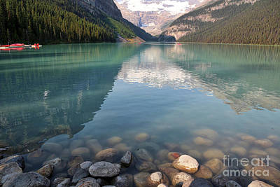 Photograph - Lake Louise Water by Carol Groenen