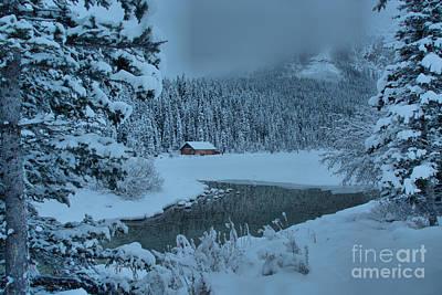 Photograph - Lake Louise Winter Landscape by Adam Jewell