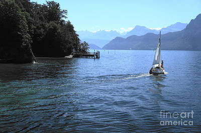Photograph - Lake Lucerne by Therese Alcorn