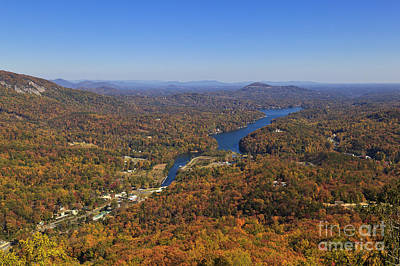 Photograph - Lake Lure In North Carolina by Jill Lang