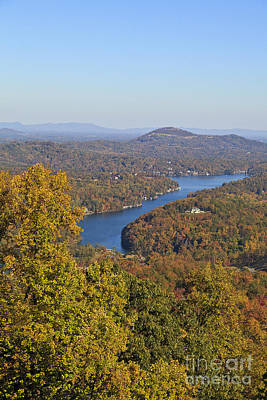 Photograph - Lake Lure In The Fall by Jill Lang