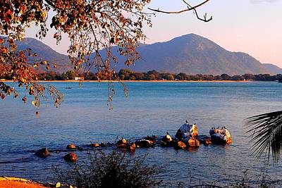 Photograph - Lake Malawi 03 by Dora Hathazi Mendes