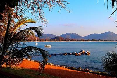 Photograph - Lake Malawi 04 by Dora Hathazi Mendes