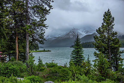 Photograph - Lake Maligne  by Patrick Boening