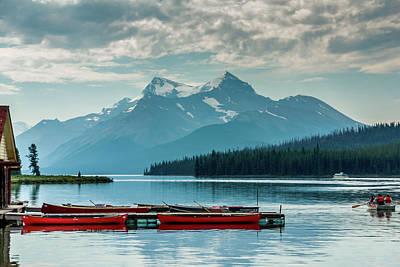 Photograph - Lake Maligne by Robert Caddy