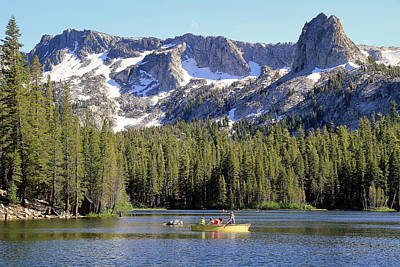 Mammoth Photograph - Lake Mamie by Donna Kennedy