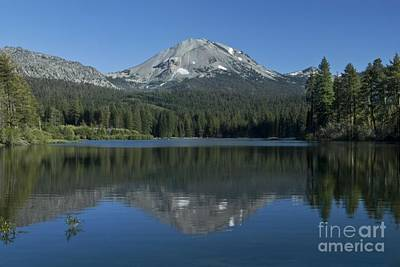 Lake Manzanita Reflection Art Print