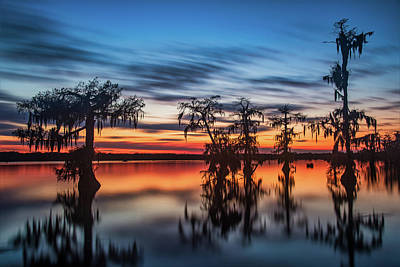 Photograph - Lake Martin Sunset by Andy Crawford