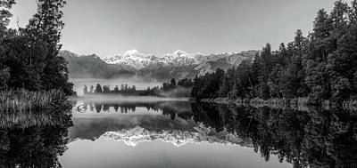 Photograph - Lake Matheson by Martin Capek