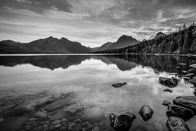 Photograph - Lake Mcdonald by Adam Mateo Fierro
