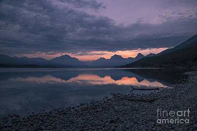 Photograph - Lake Mcdonald Dawn by Jemmy Archer