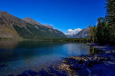 Photograph - Lake Mcdonald, Glacier National Park by Marilyn Burton