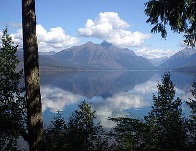 Lake Mcdonald Glacier National Park Art Print
