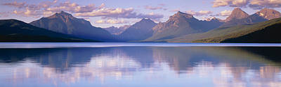 Magnificent Mountain Image Photograph - Lake Mcdonald Glacier National Park Mt by Panoramic Images