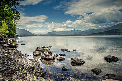 Photograph - Lake Mcdonald - Glacier National Park by Teresa Wilson
