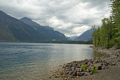 Photograph - Lake Mcdonald Glacier Park Montana by Waterdancer