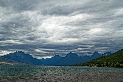Photograph - Lake Mcdonald Glacier Park by Waterdancer