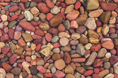 Photograph - Lake Mcdonald Jewels by Scott Wheeler