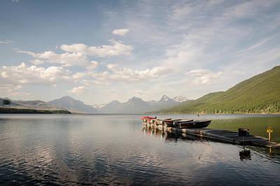 Photograph - Lake Mcdonald by Margaret Pitcher