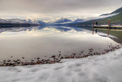 Photograph - Lake Mcdonald, Montana by Jedediah Hohf