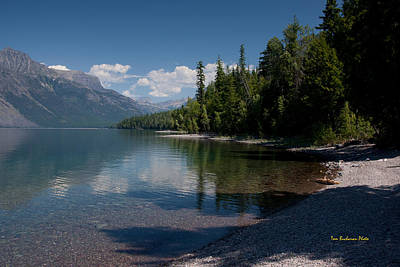 Lake Mcdonald Montana Art Print