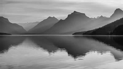 Lake Mcdonald Art Print by Monte Stevens