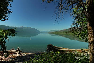 Photograph -  Lake Mcdonald Moody Morning by Christiane Schulze Art And Photography
