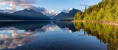 Apgar Photograph - Lake Mcdonald Reflections by Matt Hammerstein