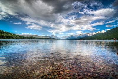 Photograph - Lake Mcdonald by Spencer McDonald