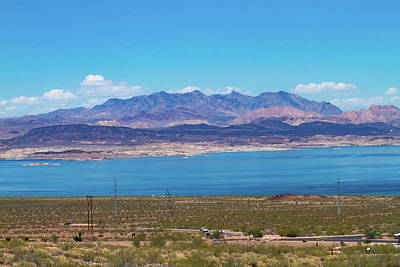 Photograph - Lake Mead Afternoon by Bonnie Follett