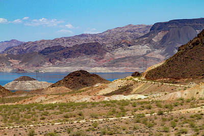 Photograph - Lake Mead Backroad by Bonnie Follett