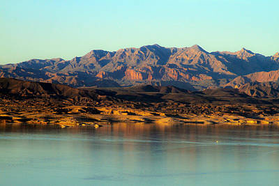 Photograph - Lake Mead Before Sunset by Bonnie Follett