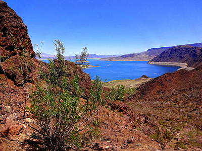 Photograph - Lake Mead by Donna Spadola