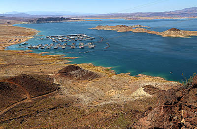 Photograph - Lake Mead Marina by Viktor Savchenko