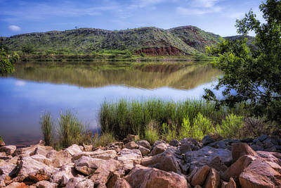 Amarillo Texas Photograph - Lake Meredith by Joan Carroll