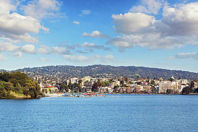 Photograph - Lake Merritt Panorama - Oakland by Melanie Alexandra Price