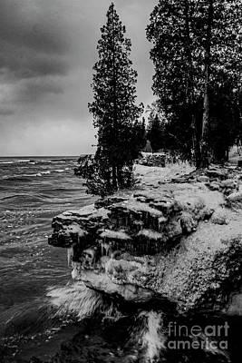 Photograph - Lake Michigan 1826vt by Doug Berry