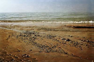 Photograph - Lake Michigan And Pier Cove Creek  by Michelle Calkins
