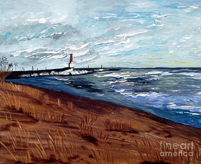Lake Michigan Beauty Art Print