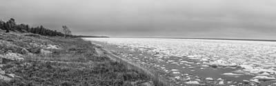 Photograph - Lake Michigan Frozen  by John McGraw
