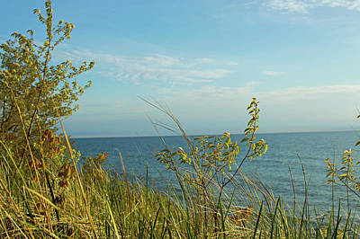 Photograph - Lake Michigan In Holland 2 by Ken Figurski
