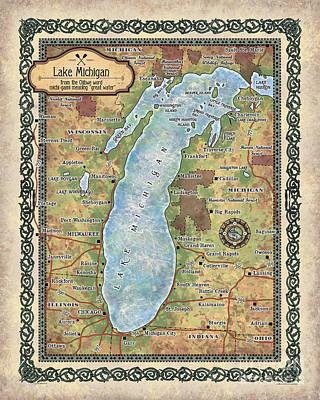 Painting - Lake Michigan by Lisa Middleton