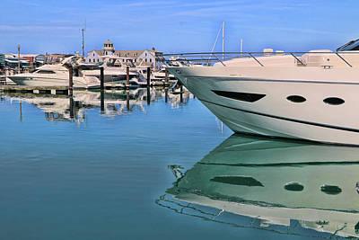 Photograph - Lake Michigan Marina - Chicago by Allen Beatty