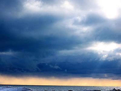 Lake Michigan Sky Art Print by Andrew Jagniecki