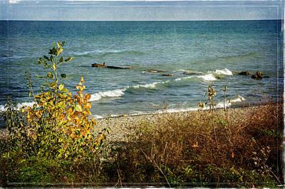 Photograph - Lake Michigan by Susan McMenamin