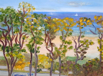 Painting - Lake Michigan View by Calliope Thomas