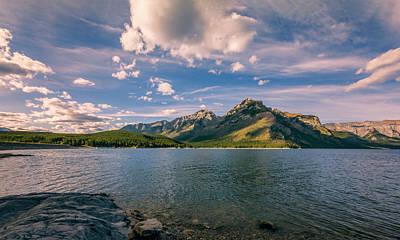 Canadian Heritage Photograph - Lake Minnewanka Banff II by Joan Carroll